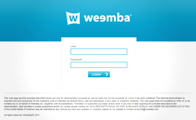 Backend Worpress Weemba